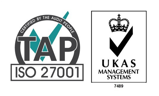 UKAS & 27001 Logo - Cert Package new big