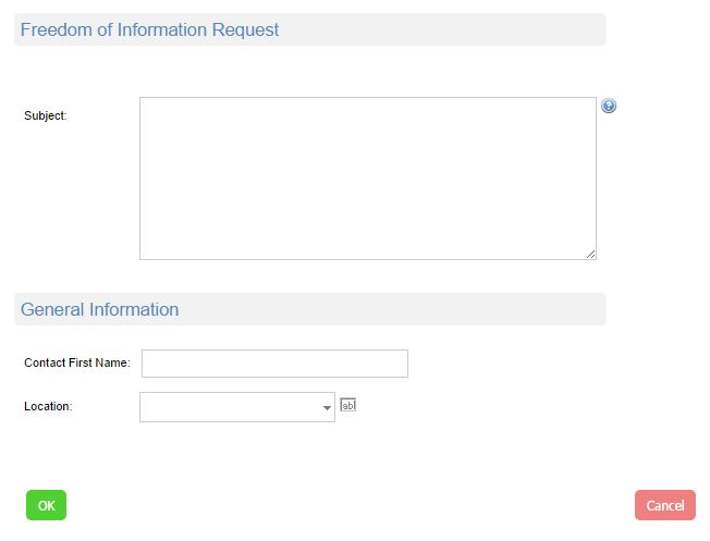 foi request management tool