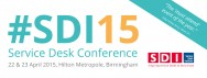 Service Desk Software at SDI15