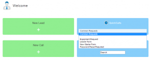 service desk call template forms