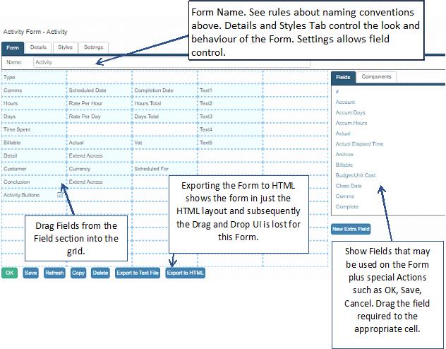task form designer
