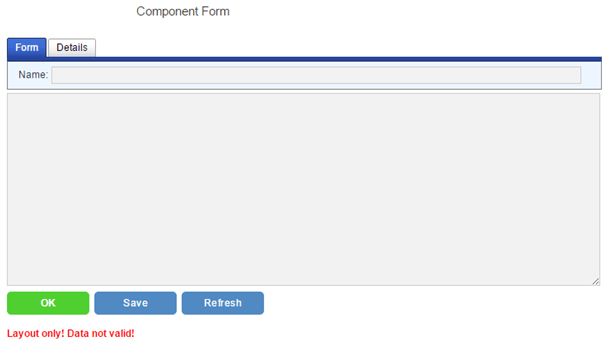 component form html field