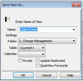 save view: windows