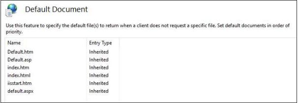 default document page