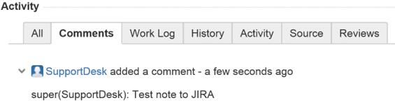 jira test note