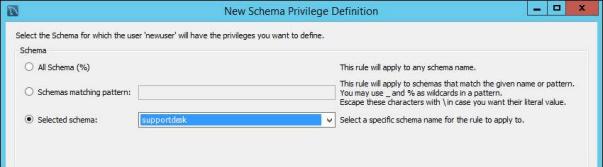 new schema privilege definition