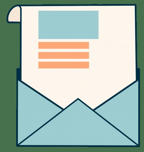 sending feedback link